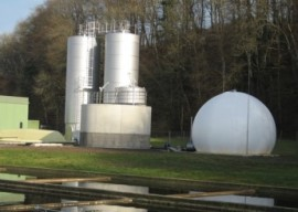 Biogas upgrading
